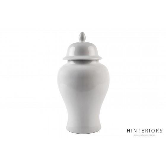 Biała Ceramiczna Waza