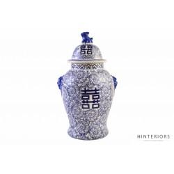 Ceramiczna Waza Blue