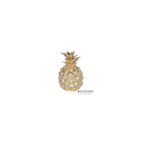 Ananas Dekoracja Gold