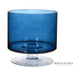 Szklany Wazon Blue