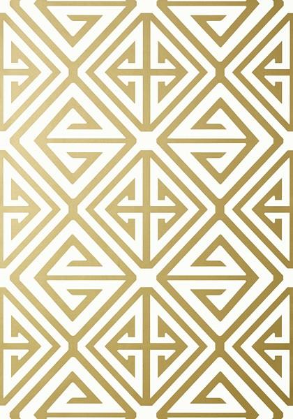 Demetrius metaliczny złoty