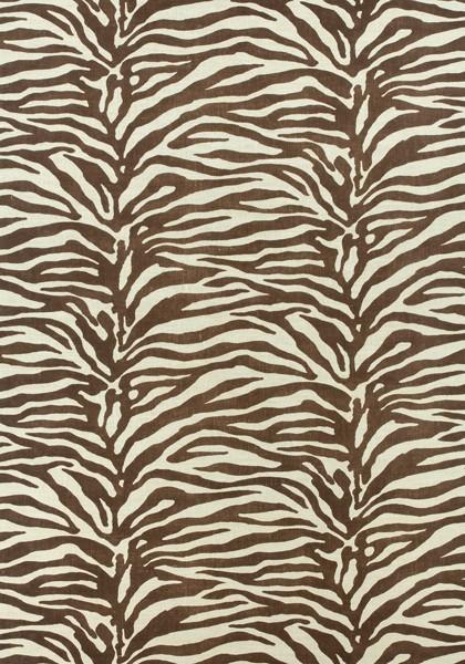 Materiał Serengeti Brązowy