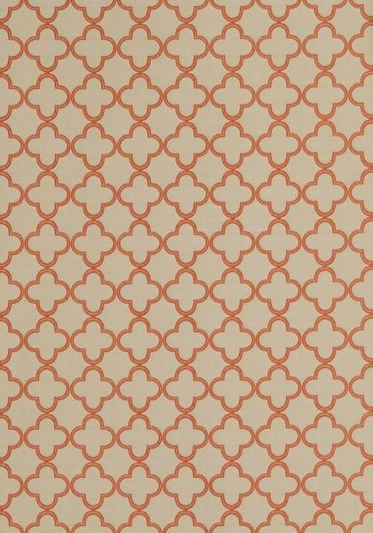 Charm Burnt Orange on Linen