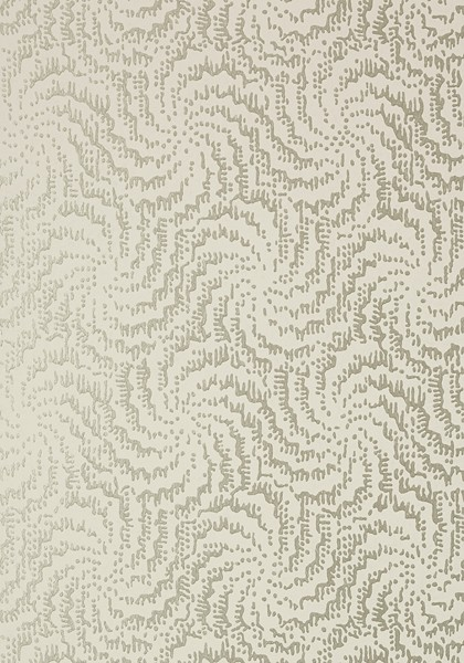 Cirrus Metallic Pewter on Linen