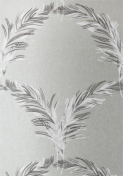 Plumes Metallic Silver