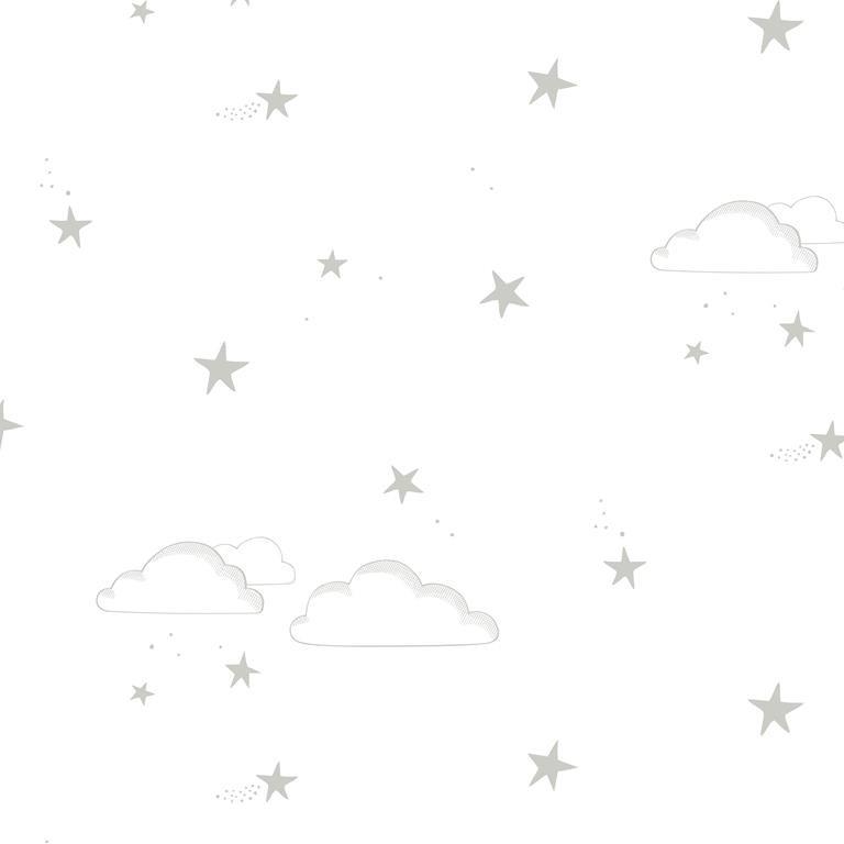 starry sky silver/white